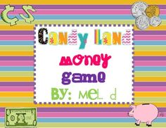 Reading Month Theme candy land | Candy Land Money Game