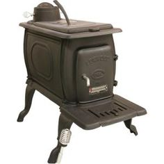 900 sq. ft. Wood Stove-1261 at The Home Depot $376