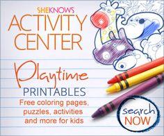 kid activities, printabl