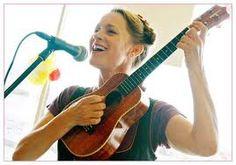 Having fun playing my uke....