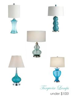 JPM Design: Turquoise Lamp Obsession