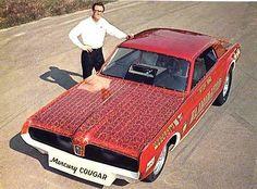 Mercury Cougar Eliminator funny car.