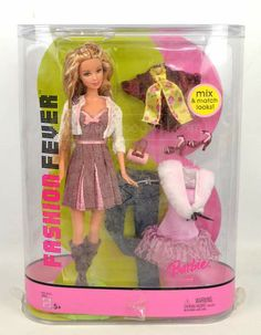 shopgoodwill.com: 2005 Mattel Fashion Fever Barbie Doll IOB