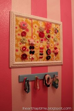hair bow frame - adorable!