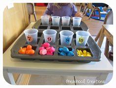 Dreidel Counting | Preschool Creations