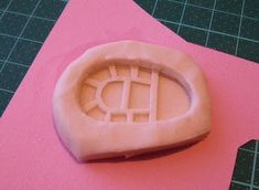 Fashion Doll Shoes: Mould making: Flat soles with Sculpey Mold Maker