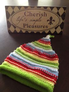 Ravelry: deliknits' Itty Bitty Stripes in Itty Bitty Hats by Susan B. Anderson