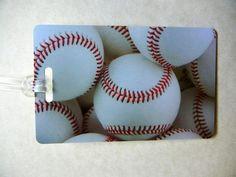 Baseball+Bag+Tags+Baseball+Luggage+Tags+Sports+Bag+by+LuggageTags,+$2.95