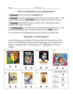autobiographical research paper analyzes