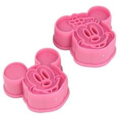 Mickey & Minnie Cookie Cutter Set - $1.59 + free shipping