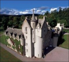 "Ballindalloch Castle - Scotland --""The Pearl of the North"""