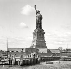 New York Harbor circa 1905