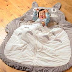 Totoro sleeping bags!  I NEED ONE, OMG!