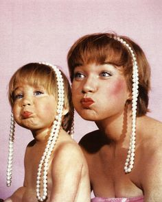 Shirley MacLaine and her daughter, Sachi Parker...