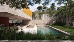 Ipês House by Studio MK27 | HomeDSGN, a daily source for inspiration and fresh ideas on interior design and home decoration.