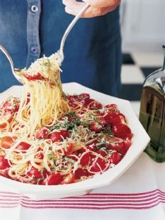 Barefoot Contessa - Recipes - Summer Garden Pasta