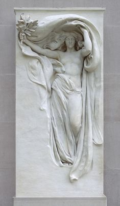 Mourning Victory (1897) | Daniel Chester French