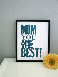 Mother's Day maybe?