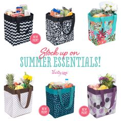 July '14 Customer Special: Get an Essential Storage Tote for only $5 when you spend $35!  www.mythirtyone.com/lesliefreeman
