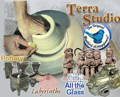 Terra Studios. Very interesting place and home the the Bluebird of Happiness