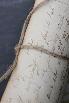 ~ beautiful handwriting
