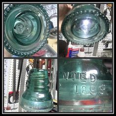 This is the coolest idea for a light made out of an old glass insulator, gonna have to try this one!