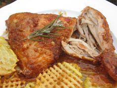 La Juani de Ana Sevilla: Pollo asado a la barbacoa