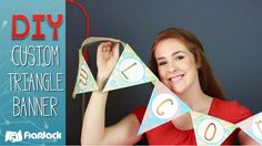 Wow your students with your own custom triangle banner! Freebie template included!