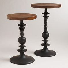 Zane Pedestal Tables