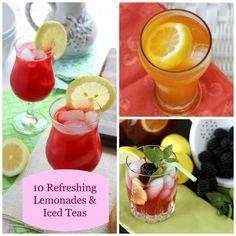 10 Refreshing Lemonades & Iced Teas for Spring