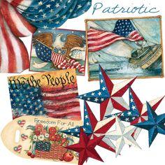 Patriotic by Susan Winget