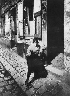 Prostitute, Paris by Eugène Atget. 1920