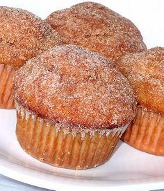 Cinammon Sugar Donut Muffins