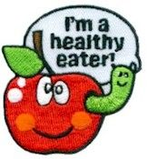 I'm a Healthy Eater Patch - Girl Scout Fun Patches - PatchFun.com