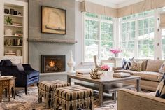 Valentine Street Residence traditional family room