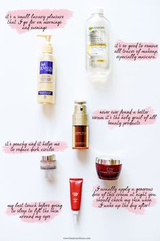 The beauty products