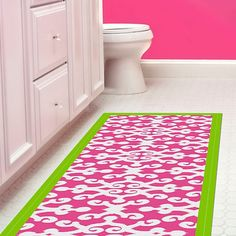 This runner will give your kitchen a bright boost. For the lil' girl in all of us!