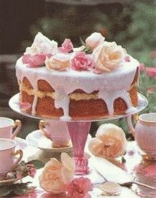 Rose Cake - I want this for my birthday tea.
