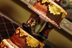 Cowboy Wedding Cake...