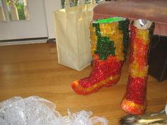 The World's Only Gummi Bear Boots