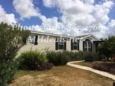$42,900 http://mhdeals.net/gallery/used-double-wide-mobile-homes/San-Antonio-TX-2002OW42-V (210)-887-2760 A beautiful 4 bed 2 bathroom used double wide manufactured home with great features. This home comes with low maintenance vinyl siding. It has lots of bright colors, with the living area having a funky multicolor walls. The living room also comes with a gorgeous fireplace at the edge. The kitchen has a unique shutter blinds corner wall and...More info at Mhdeals.net LIC 36155 #sanantonio