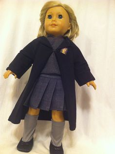 Hermione Costume for AG doll by JessiesGirlClothing on Etsy, $25.00