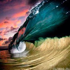 waves, art, clark littl, clarks, sea, photo galleries, pink flash, photography, photographi