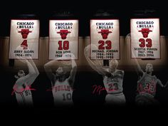 The Bulls Best Leaders...next will be D. Rose