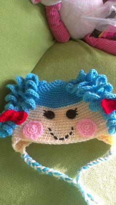 Lalaloopsy-Inspired Crochet Hat by Etsy seller MaryVaryCrafty for my rockstar