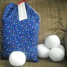 snowball fight kit! So much fun for boys on a rainy day inside!