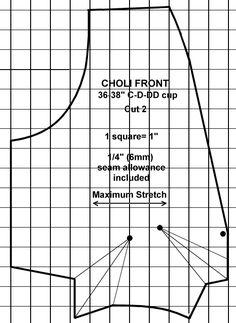 choli pattern