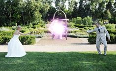 Bride Battles Groom In Epic Harry Potter Wedding Photo