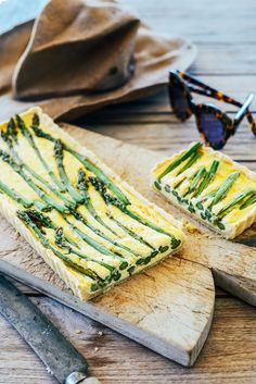 Creamy Asparagus Tart I From the Kitchen