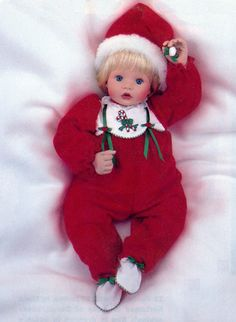 Christmas Candy, 20 inch, Susan Wakeen. Dec 1999. in Doll Reader mag. Dec./Jan. 99-00